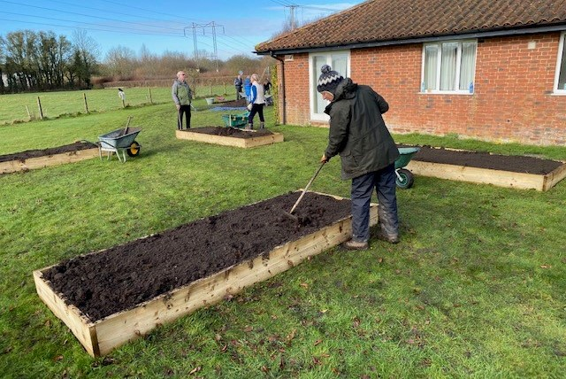Springhead supports the Fontmell Friendship Garden