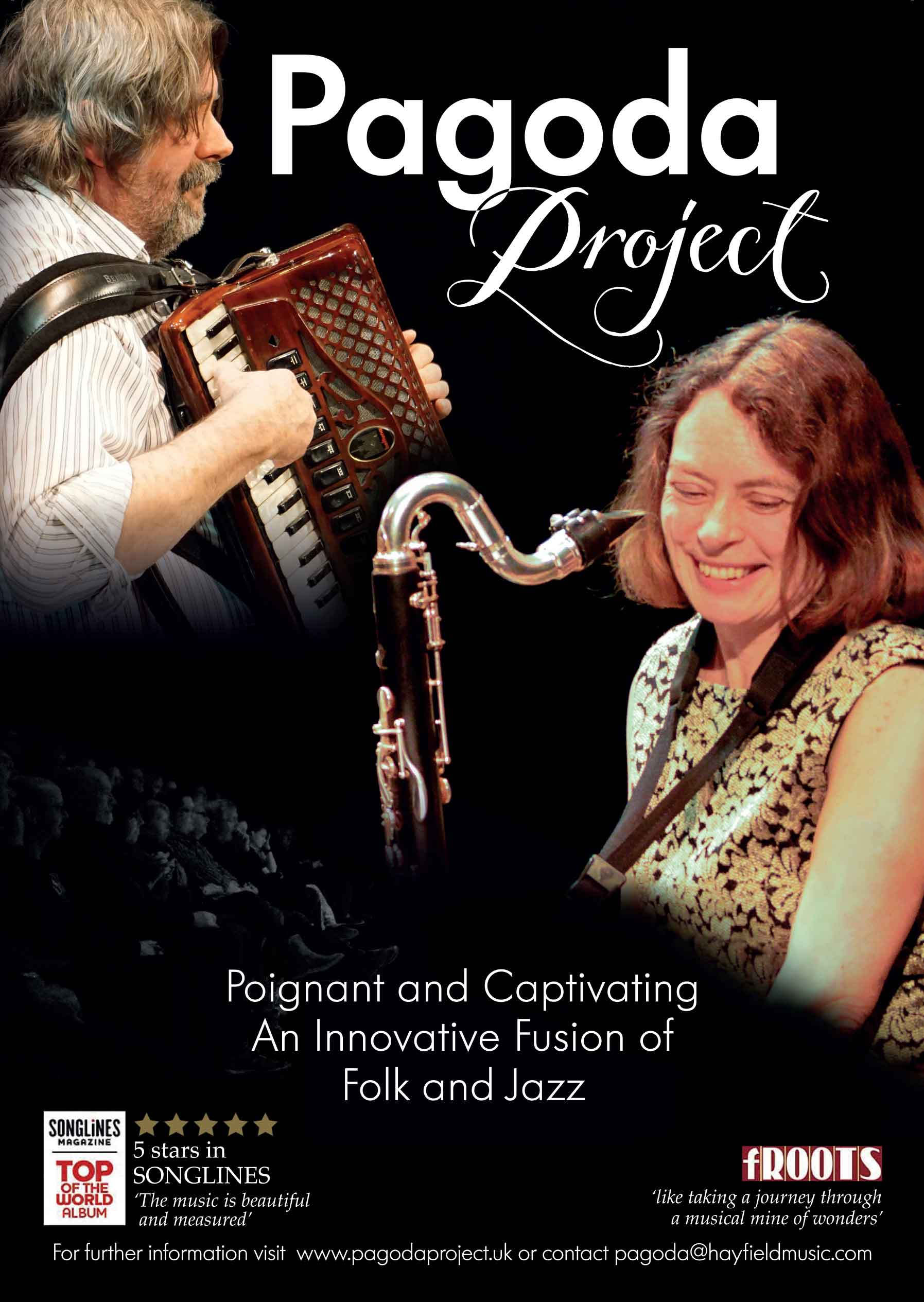 Pagoda Project: contemporary folk jazz fusion